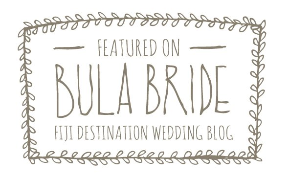 Featured on Bula Bride - Fiji destination wedding blog