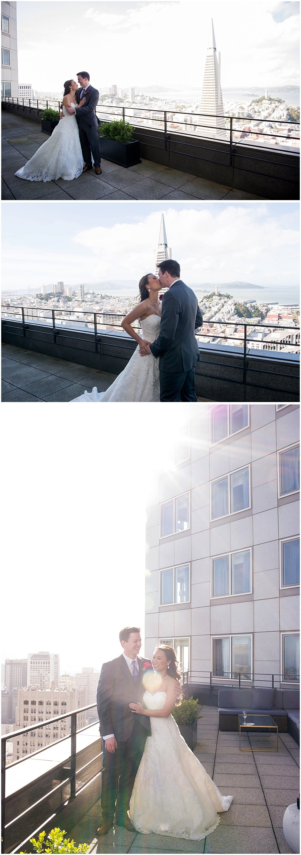 Asian Art Museum Wedding, View from Loews Regency San Francisco
