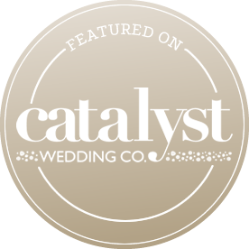 Featured on CATALYST WEDDING CO.