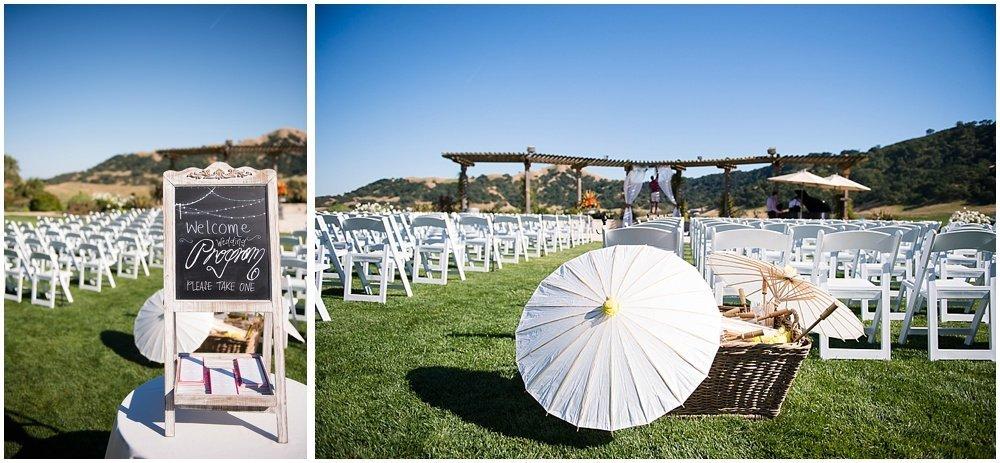 Clos La Chance Winery Wedding