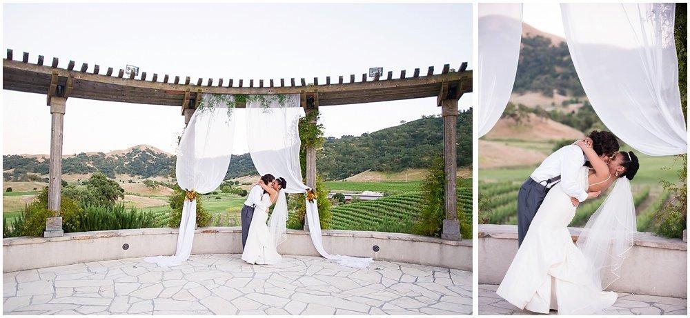Clos LaChance Winery Wedding