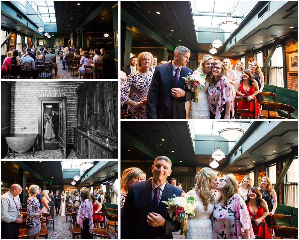 Rachel & Chuck's Vintage San Francisco Wedding At Wayfare