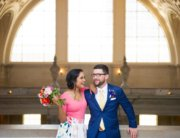 Alternative Wedding Dress - San Francisco City Hall