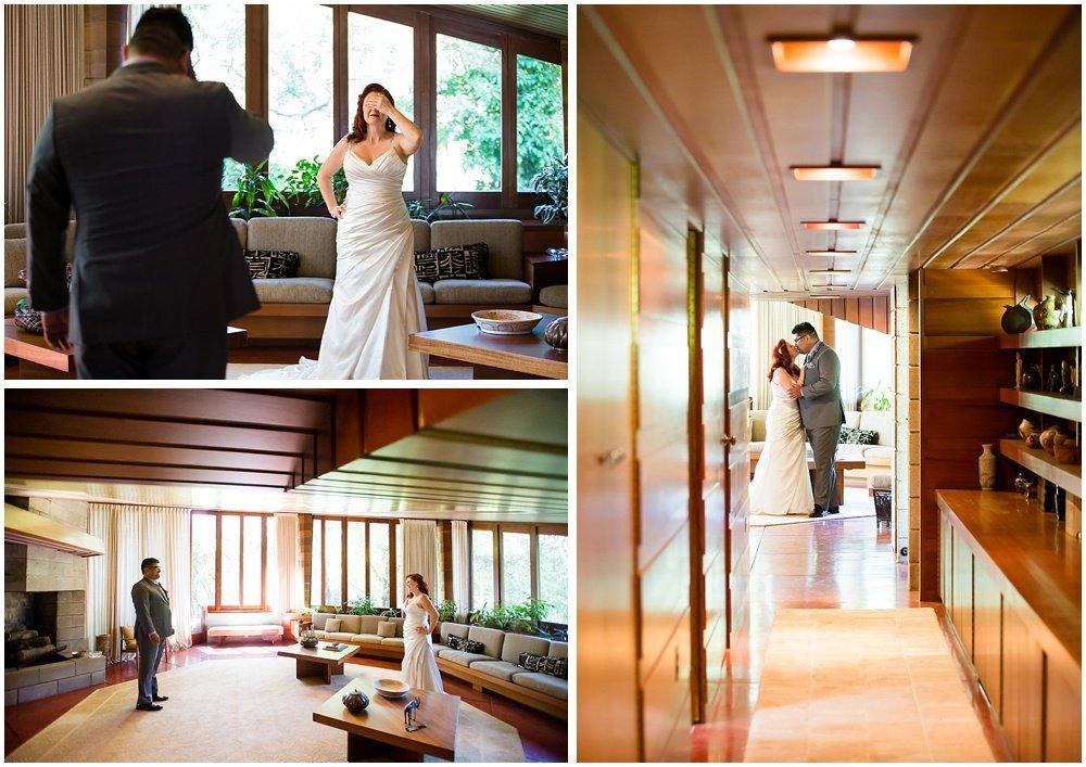 Frank Lloyd Wright Wedding