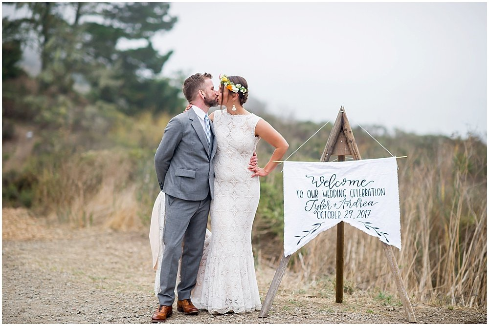 Boho Wedding on the California Coast
