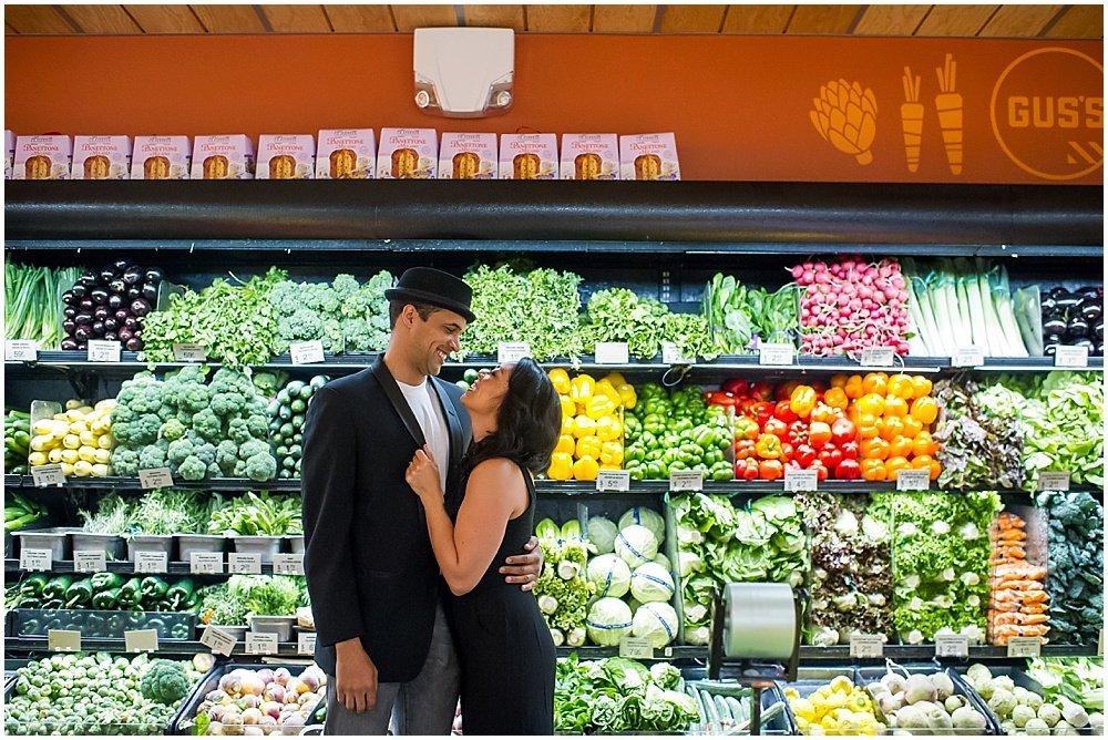 Grocery Store Engagement Unique