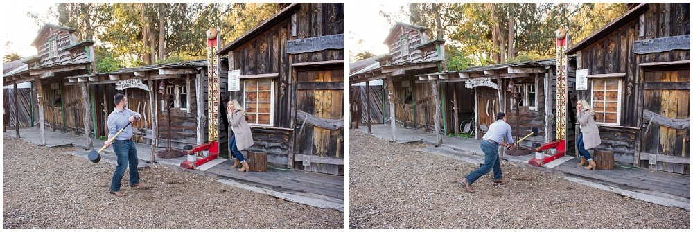 Long Branch Farms Half Moon Bay Engagement Session