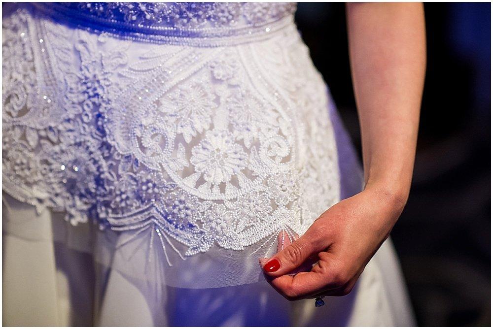 Wedding dress designed byNaeem Khan at claremont hotel wedding by chloe jackman photography