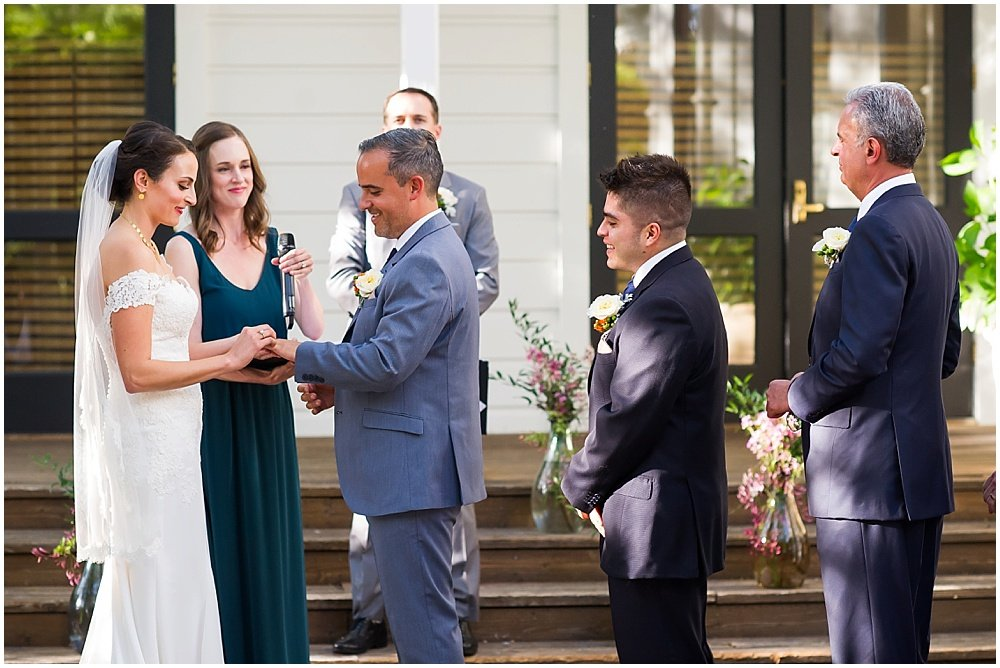 More wedding vows at General's Daughter Wedding