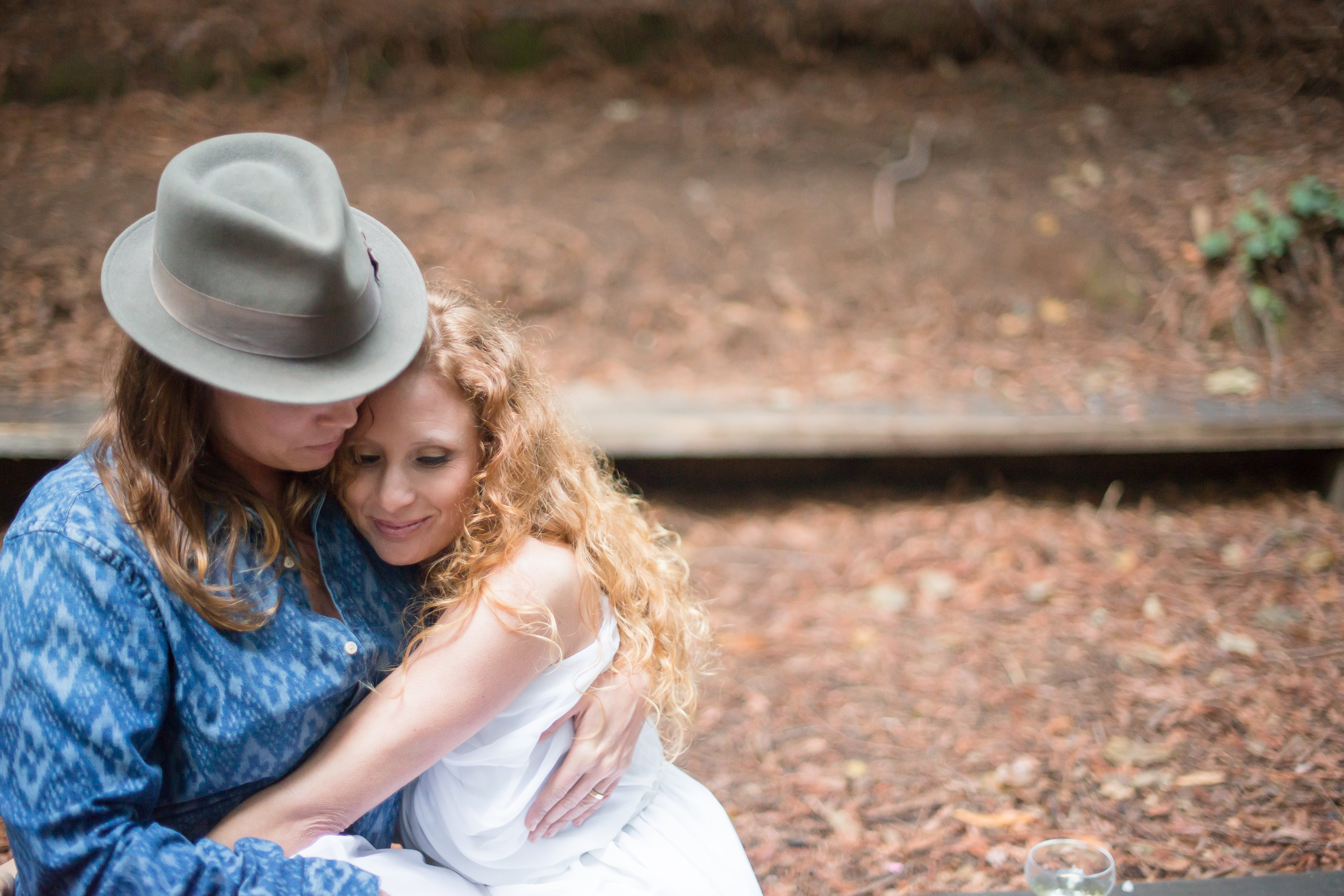Summer & Meredith's Romantic Pinic in the Woods | Old Mill Park | Mill  Valley