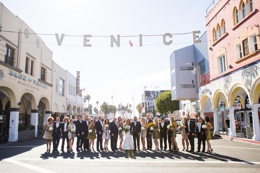 Zack & Lindsay's Nautical Venice Beach Wedding | LA | By Matthew