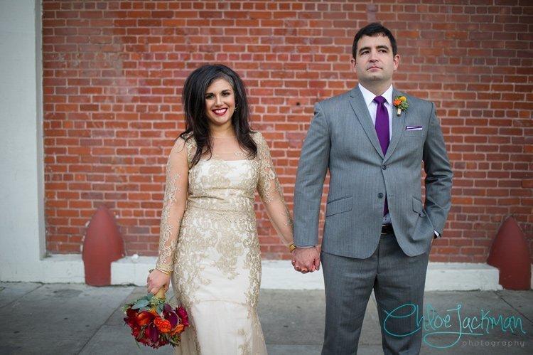 Ben & Bella's Epic San Francisco Winter Wedding | Dogpatch WineWorks