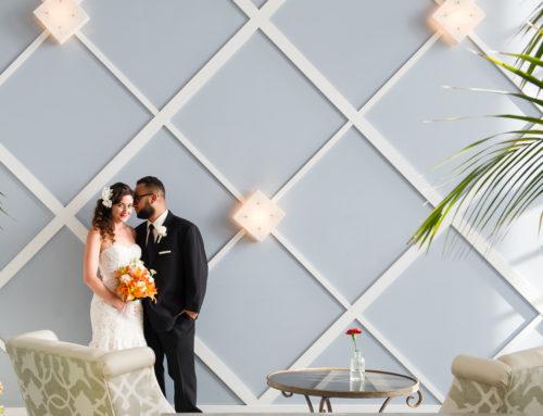 Orlando & Makenna's Portofino Hotel Wedding