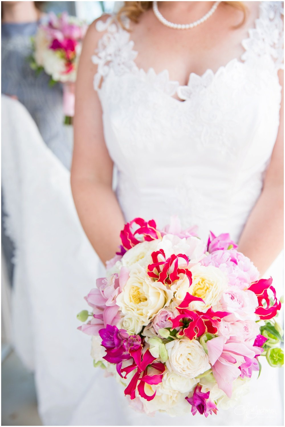 wedding bouquet by Accents by Sage