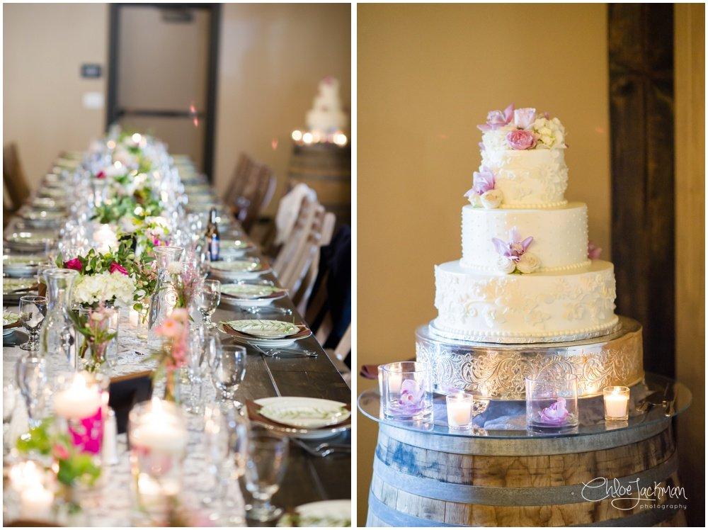 wedding cake by Preferred Sonoma Caterer