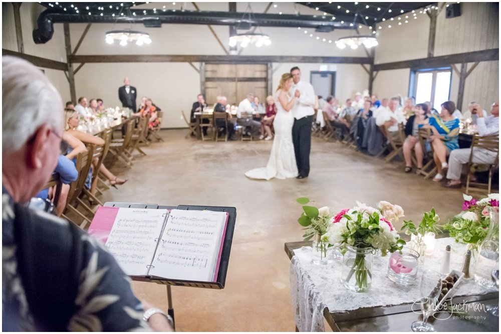 bride and groom first dance to Dave Chelini accordion music