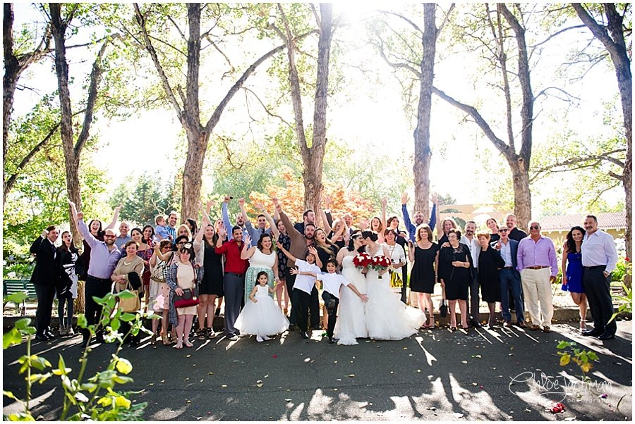 same sex wedding in sebastopol