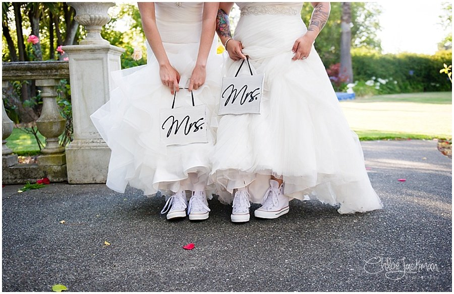 brides matching shoes