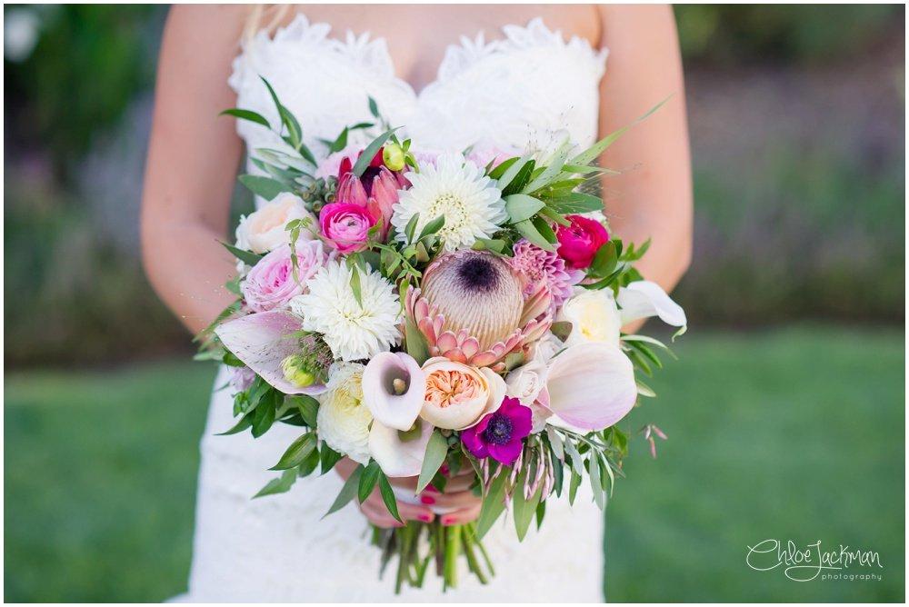 wedding bouquet by Poppystone