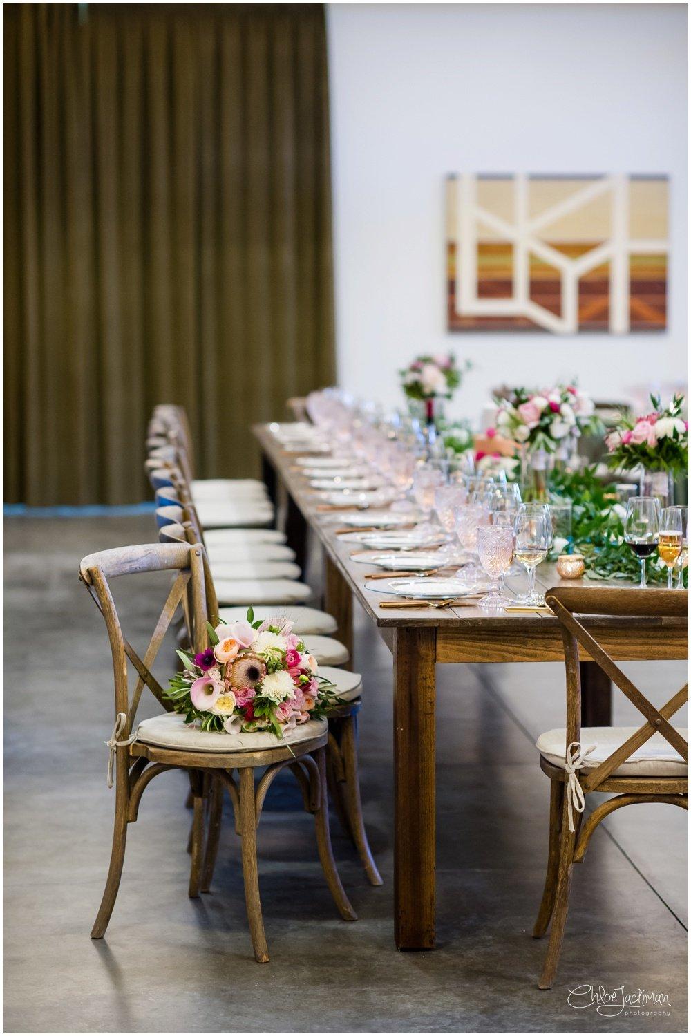 solage calistoga wedding table setting