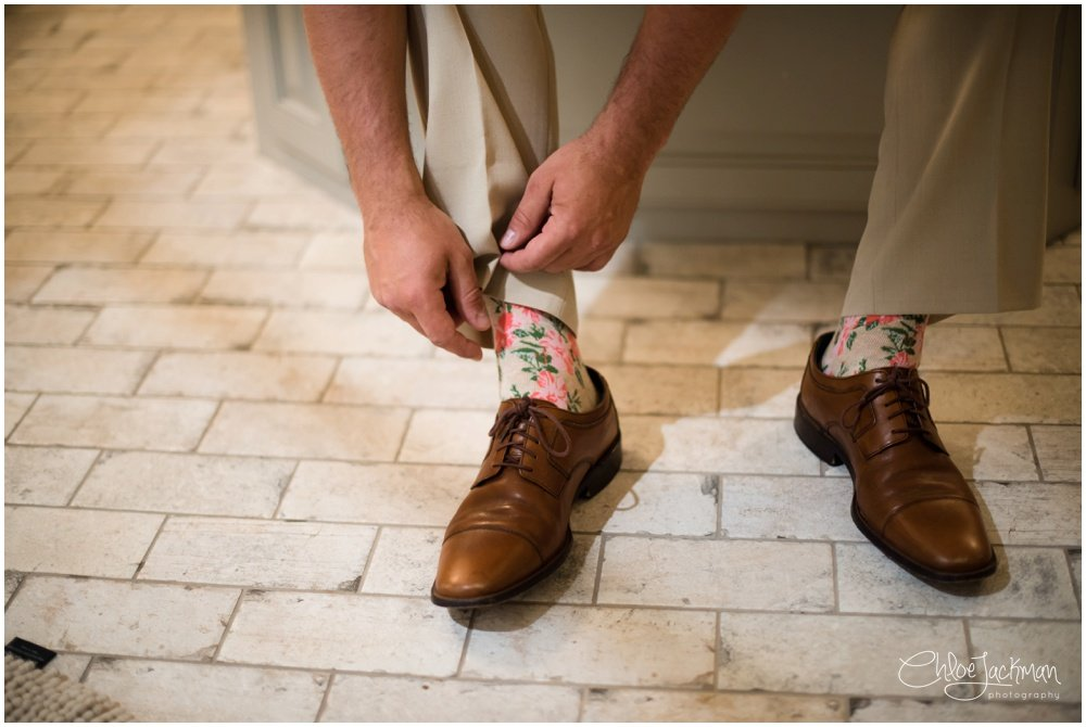 groom ties wedding shoes