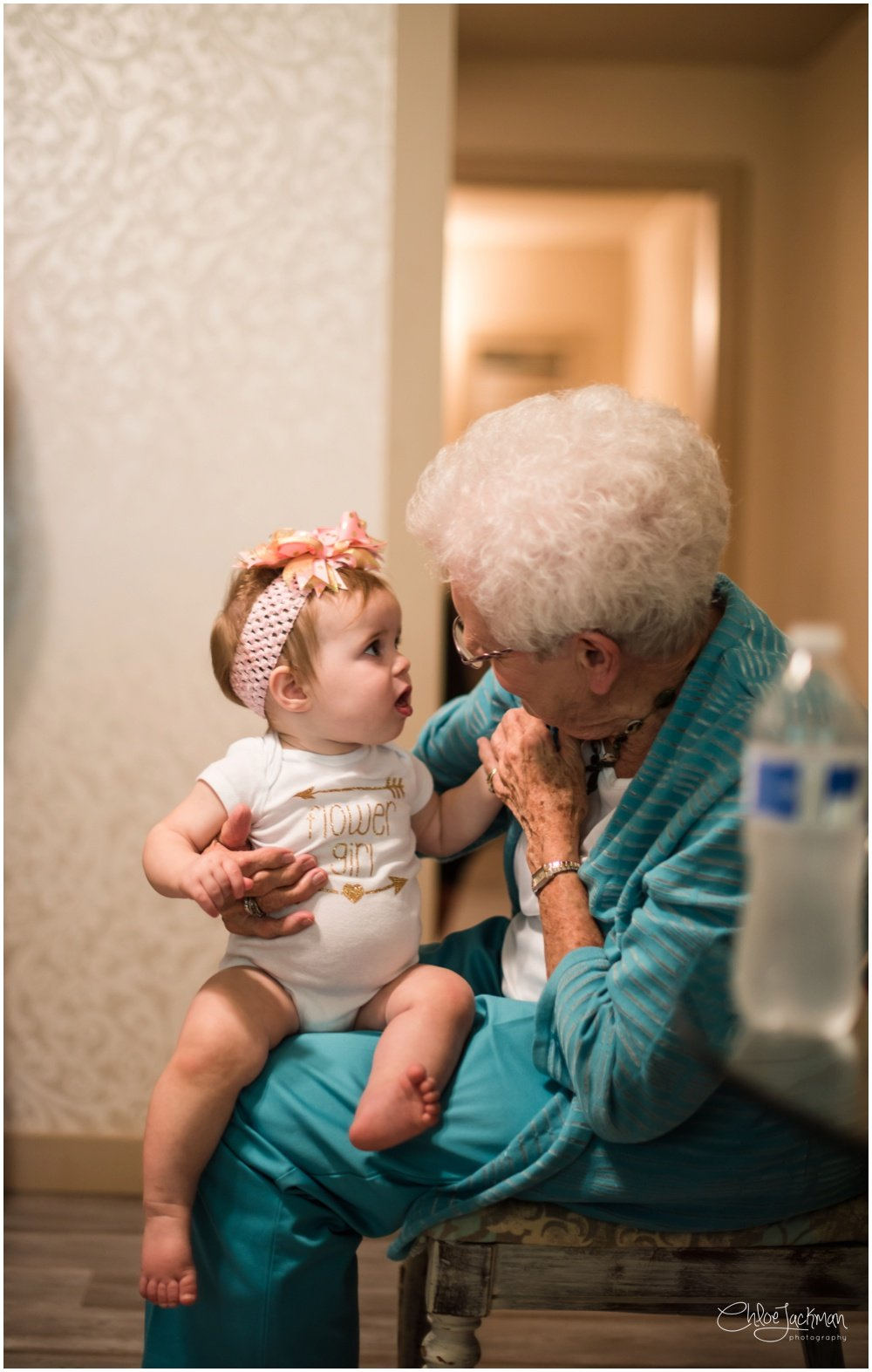 grandmother with grandbaby
