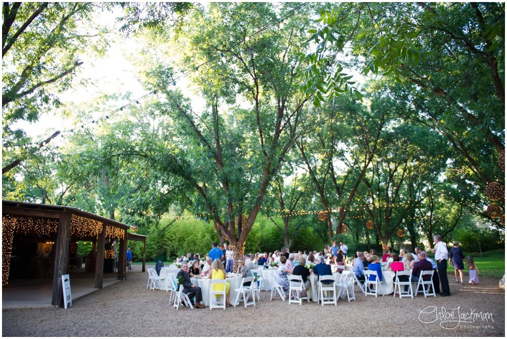 outdoor wedding at at fulford barn wedding in texas
