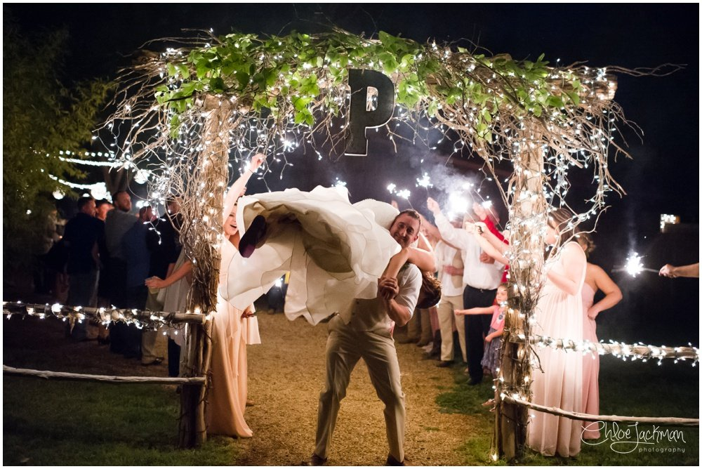 bride and groom at fulford barn wedding in texas