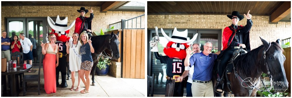 texas tech university Masked Rider and Raider Red mascots