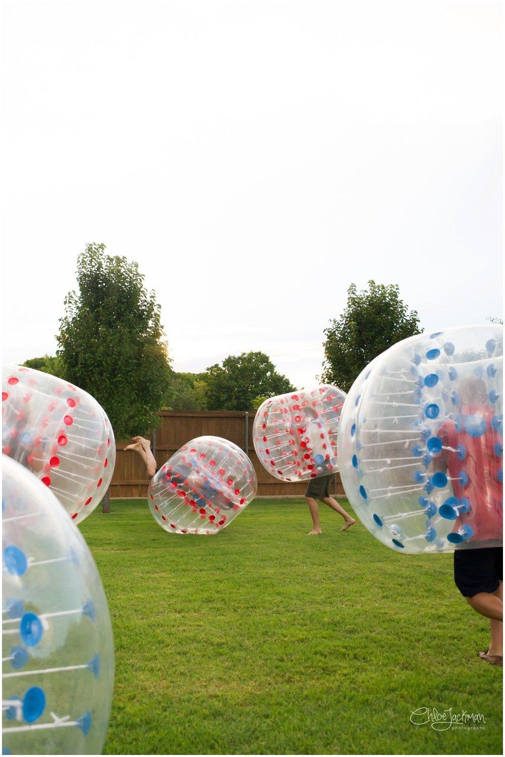 human soccer ball
