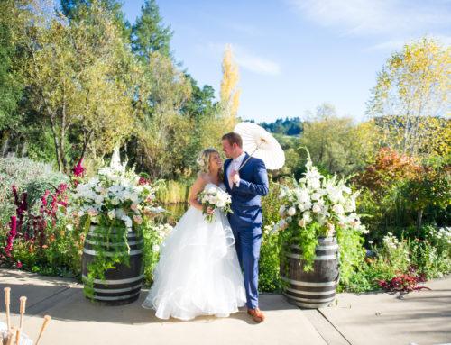 Chris & Chastity's Hans Fahden Wedding | Calistoga