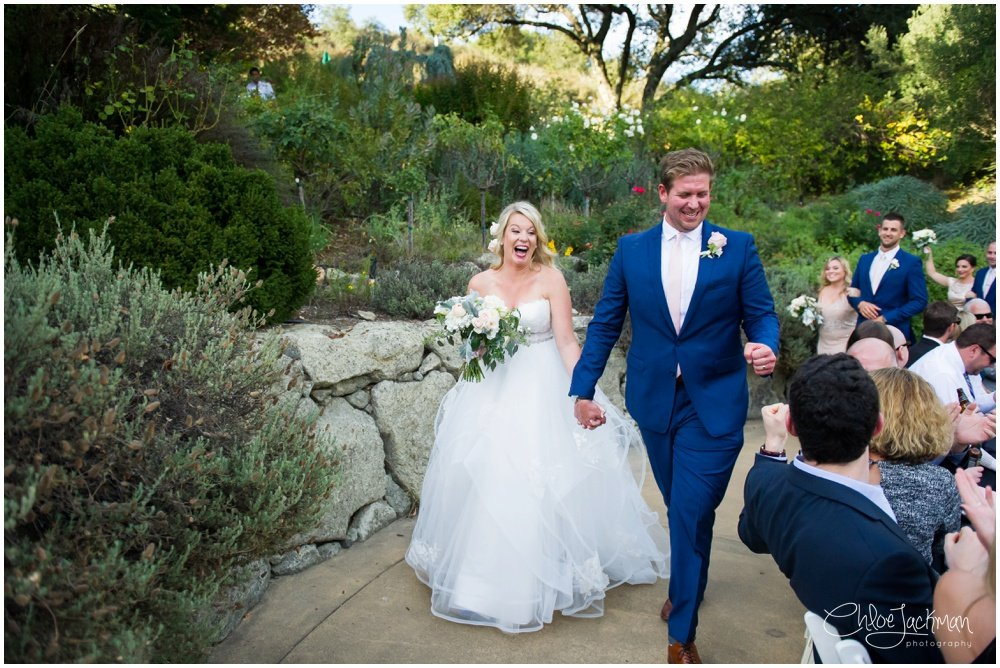 bride and groom married at hans fahden wedding in calistoga