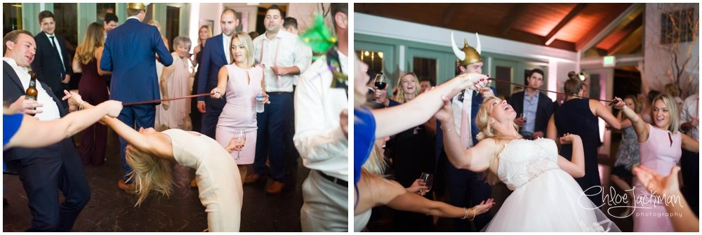 limbo at wedding