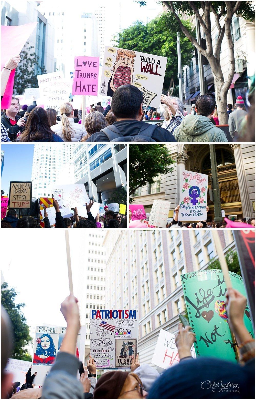 Los Angeles Women's March