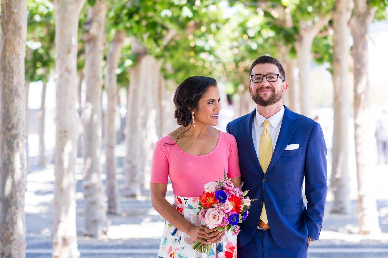 Sneak Peek of Mat & Rumana's Intimate City Hall Wedding