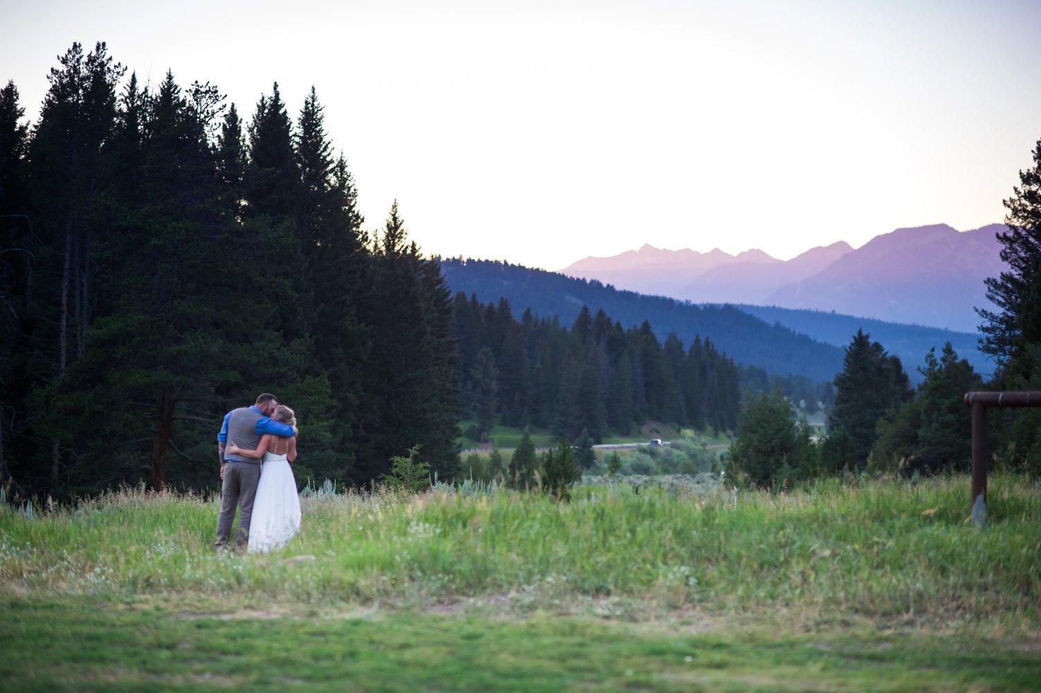 Kyle Whitney S Sky Montana Wedding