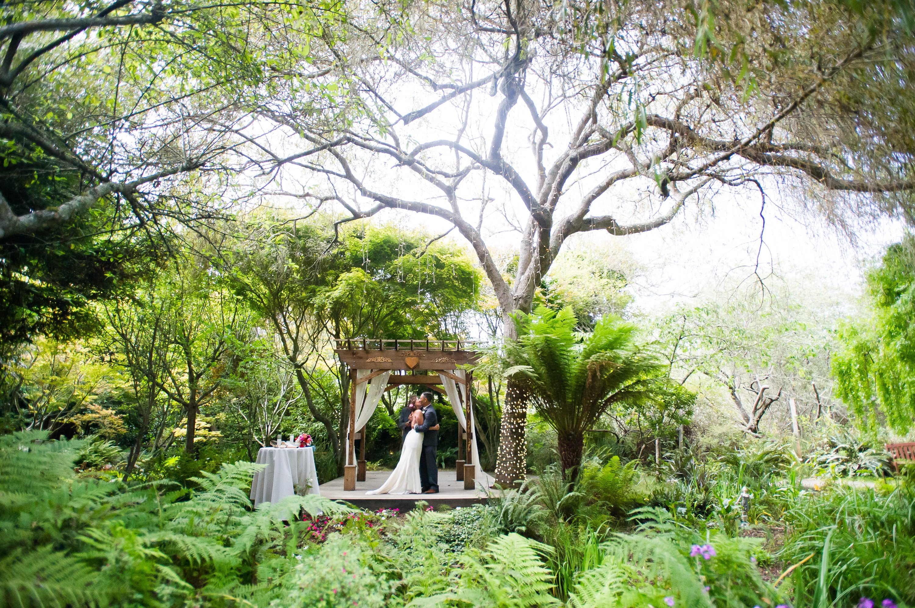 Secret Garden: Christina & Burton's Magical Wedding: Bodega Bay Secret