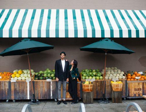Sneak Peek | Val & Avant's Rainy SF Engagement