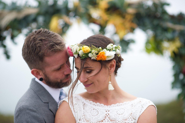 Just A Peek | Andrea & Tyler's Romantic Slide Ranch Wedding