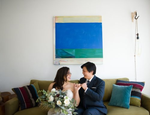 Just A Peak Into Joanne & Shandra's Art Gallery Wedding