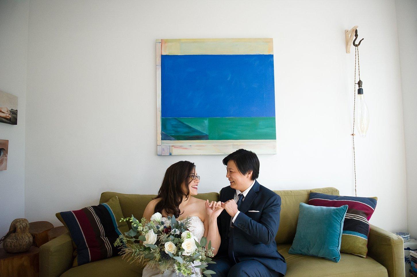 Just A Peak Into Joanne & Shandra's Art Gallery Wedding