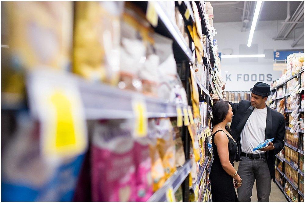 Unique Grocery Store Engagement