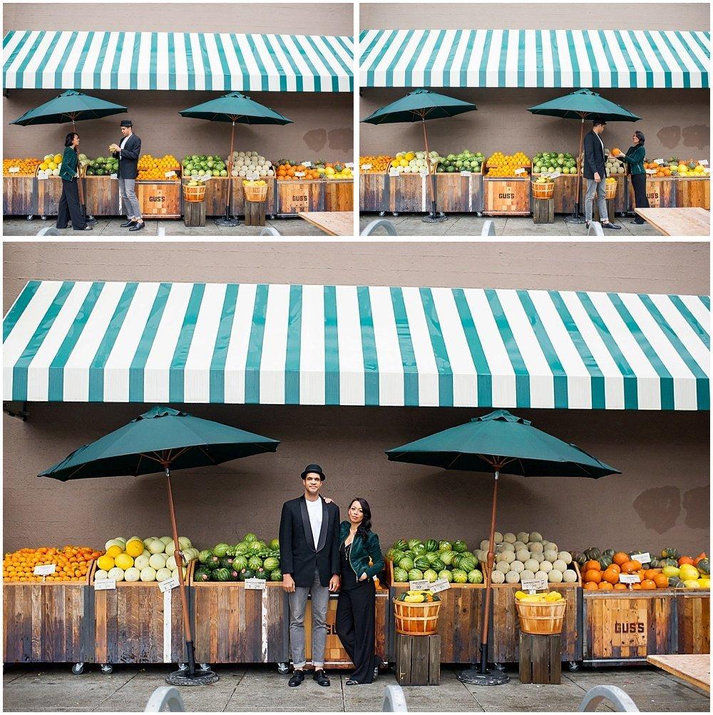 Colorful Engagement Photo Location Ideas