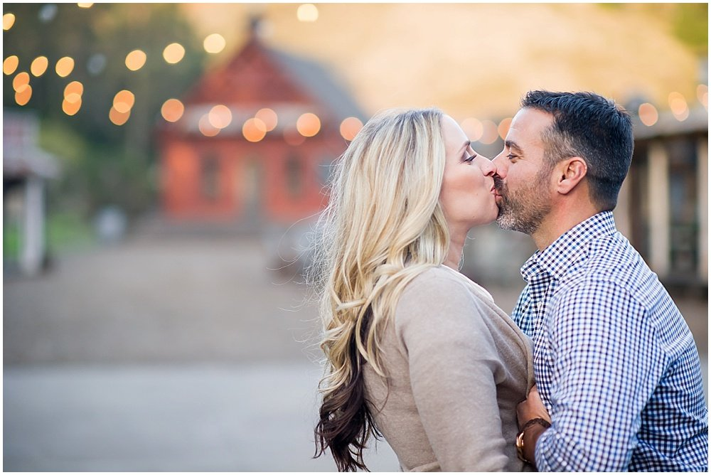 Half Moon Bay Engagement: Anthony & Tiffany's Antique Car Session