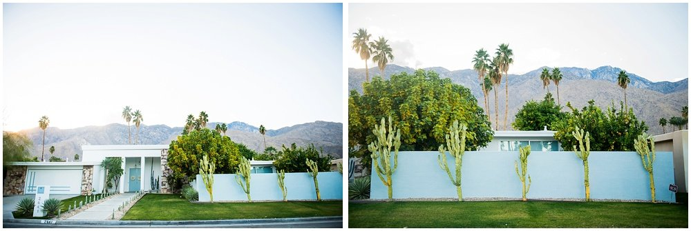 Palm Springs desert architecture houses