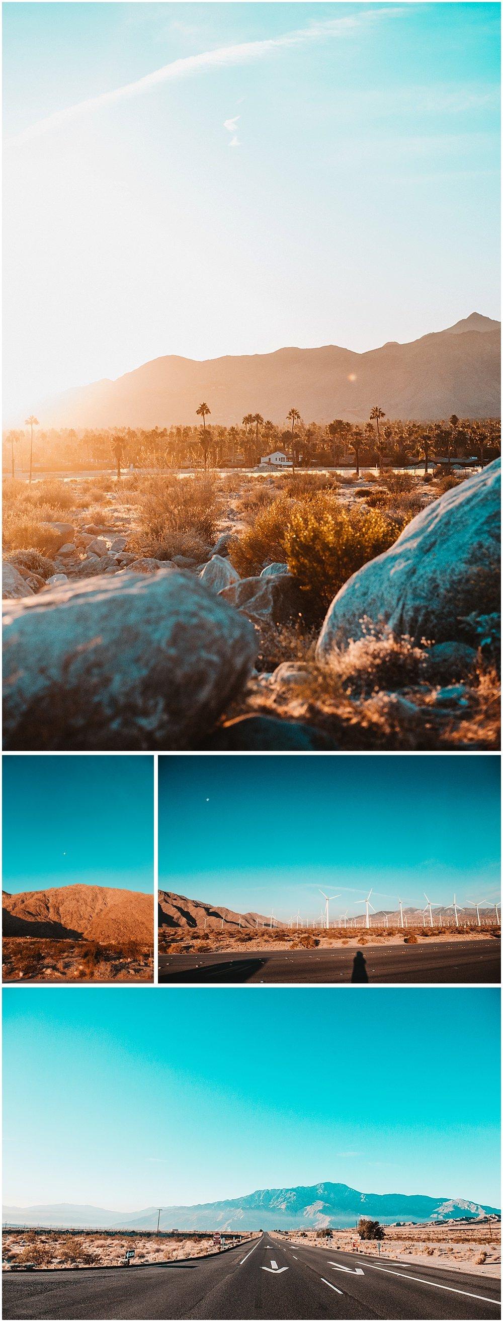 Palm Springs Desert Sunset