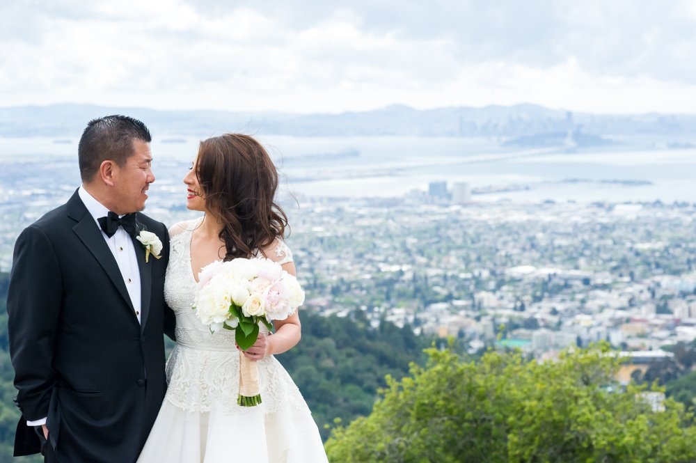 A Classy Claremont Hotel Wedding For A Classy Pair: Dora & Jay