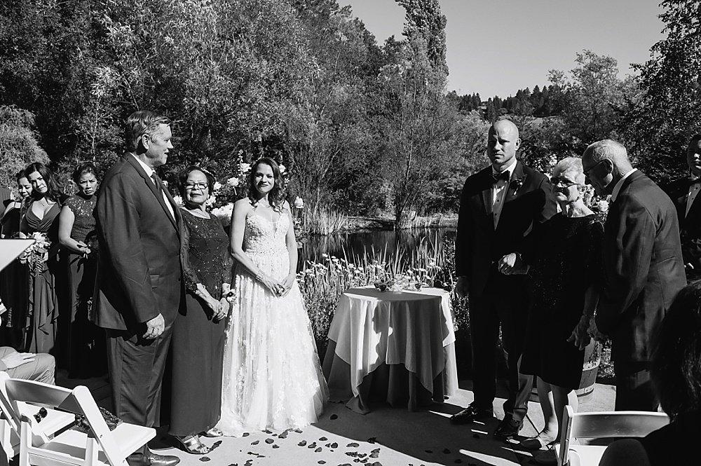 unity glass ceremony at hans fahden winery wedding by chloe jackman photogrpahy