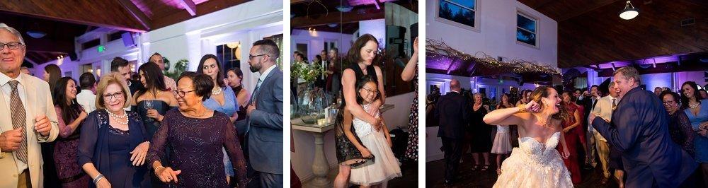Dancing at reception of hans fahden winery wedding
