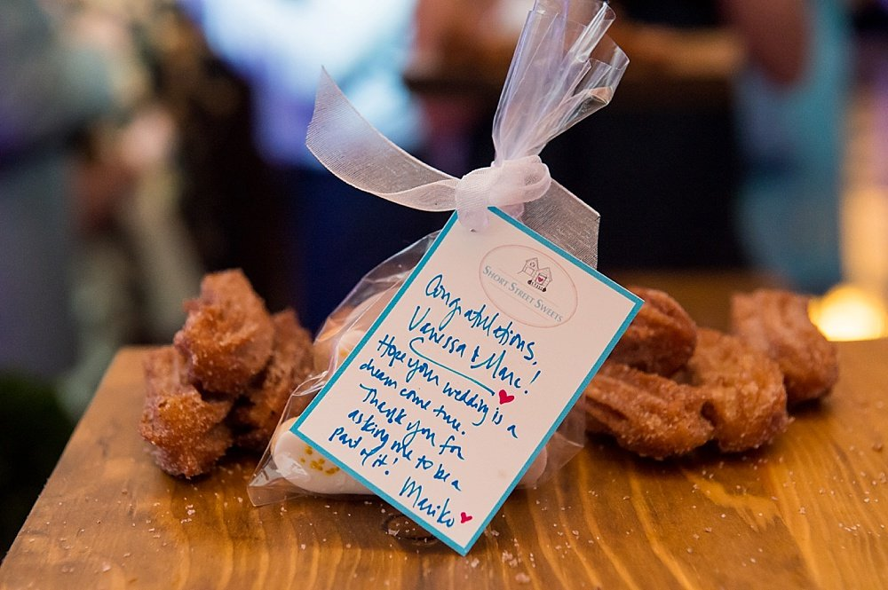 customized cookies at hans fahden winery wedding